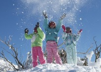 Snow play at Perisher