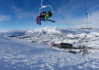 Queenstown's Coronet Peak ski area welcomes skiers and snowboarders from around New Zealand and Australia