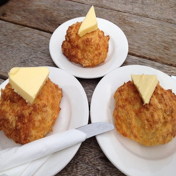Federal Diner cheese scones