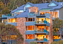 The Peak luxury apartments in Thredbo