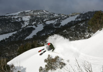 Mitch Smith at Mary's at Hotham by Charlie Brown