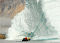 Cruising past a giant iceberg in Greenland - Carol Hall - Aurora Expedit...