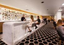 First Class Qantas Lounge in LAX