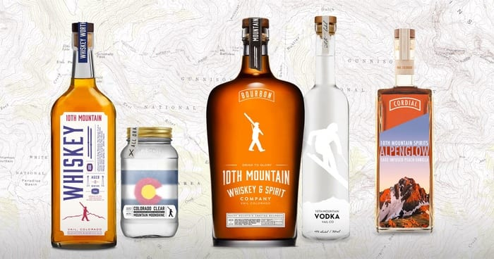 10th Mountain Whiskey range