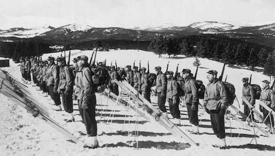 10th Mountain Division training in Vail
