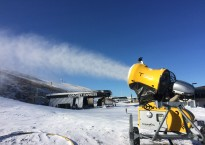 Snow gun pumping out the white stuff at the base of Coronet Peak.jpg