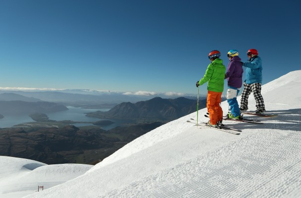 The view from Treble Cone
