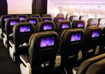 Air NZ 777-200 Refub PE Cabin Rear View