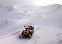 New snow has blanketed Mt Hutt today with up to 30cm across the mountain and metre-deep drifts in places.jpg