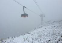 Snow Jackson Hole Tram July 27