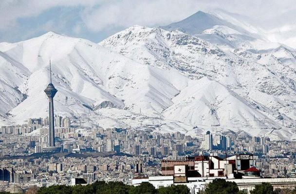 Tehran stock photo