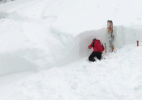 Pic of the January 11 avalanche. Photo credit Trent Meisenheimer from Utah Avalanche Centre