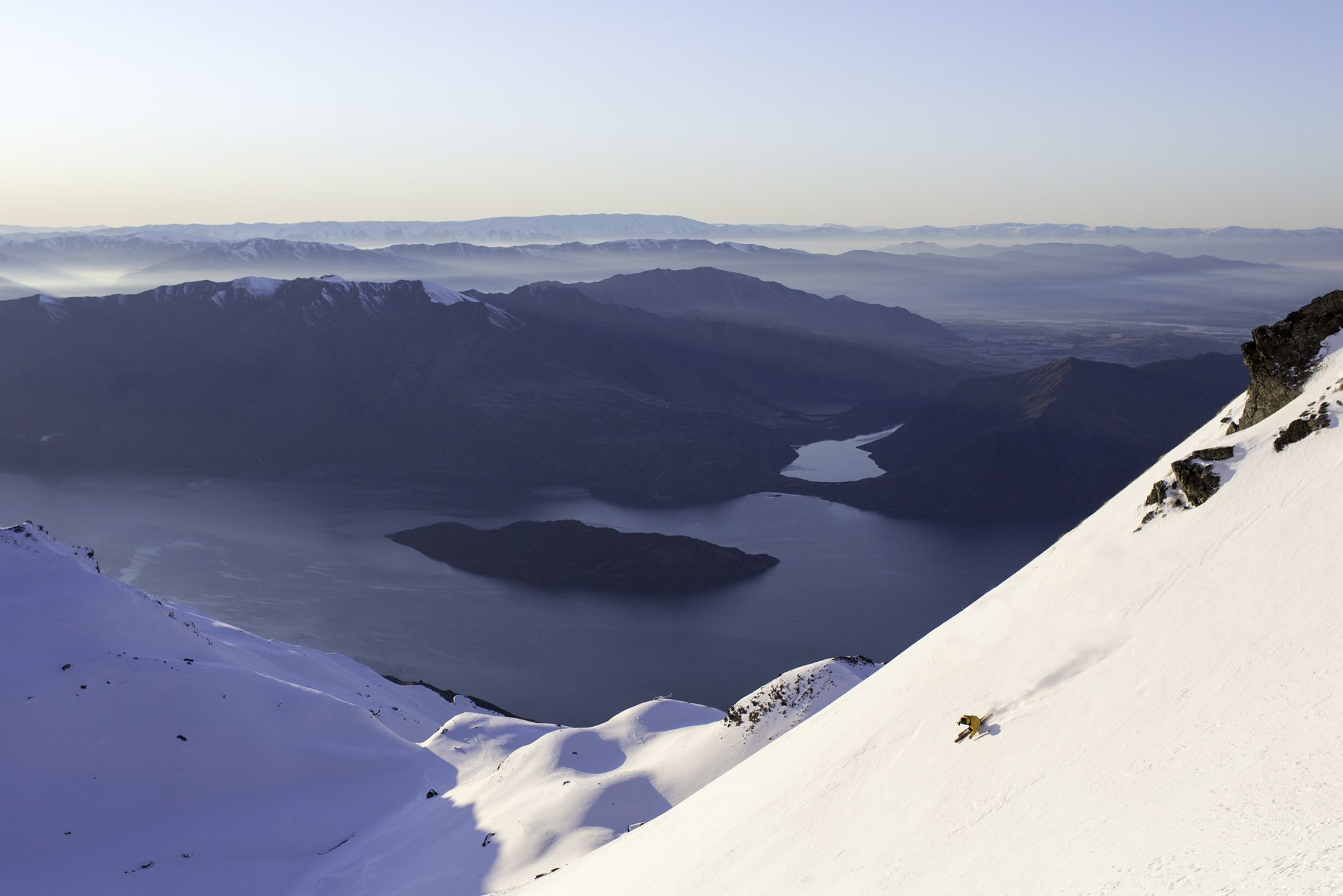 What a Wanaka view! Pic by Mark Clinton.