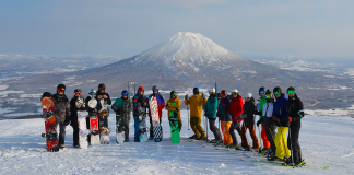 ski instructor, Japan